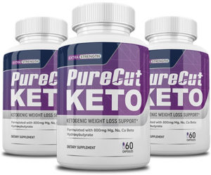 Pure Cut Keto bottles